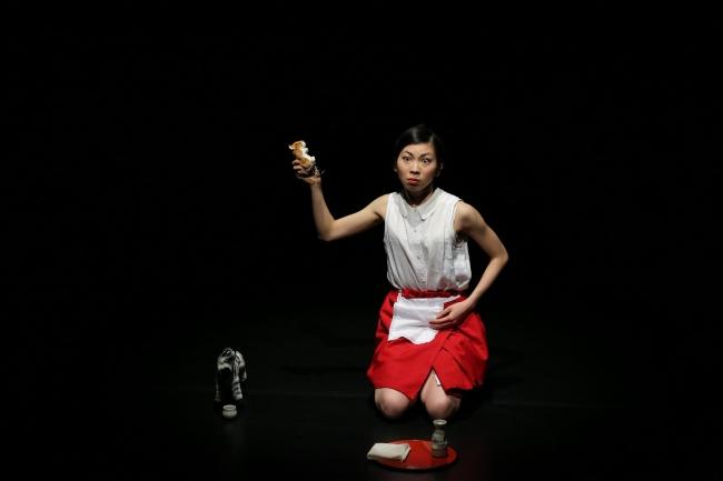 中村蓉『別れの詩』撮影:塚田洋一