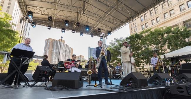 昨年のデトロイト・ジャズ・フェスティバル2