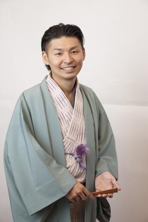 落語家の桂三木男さん