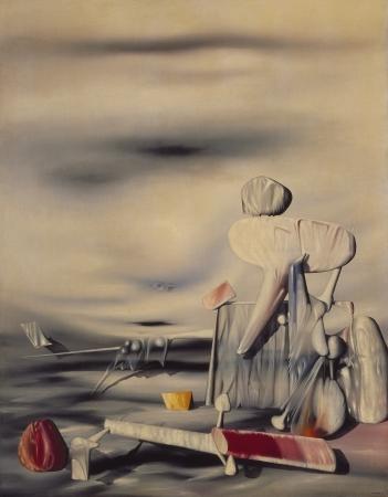 イヴ・タンギー《風のアルファベット》1944 年 横浜美術館蔵