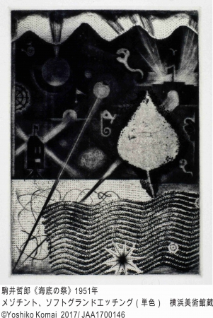 駒井哲郎―煌めく紙上の宇宙 ルドンを愛した銅版画のパイオニアとその時代