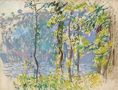クロード・モネ《ヴィレの風景》 1883年 個人蔵 (C)Christie's Images / Bridgeman Images