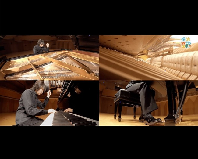 演奏は2016年フランツ・リスト国際ピアノコンクール第1位、横浜市・ハノーファー在住の阪田知樹