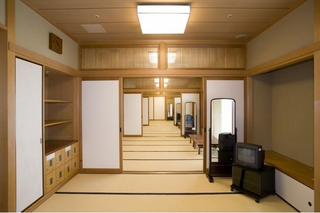 横浜能楽堂 楽屋