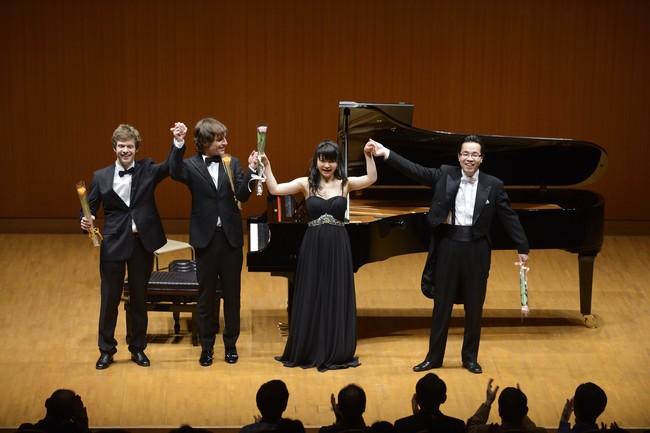2013年「横浜市招待国際ピアノ演奏会」より (C)藤本史昭