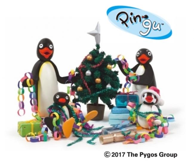 ピングーのクリスマス高画質壁紙です。