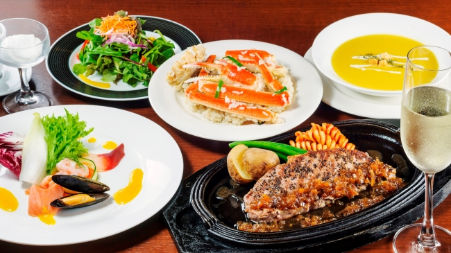 シーフードレストラン メヒコ「デリシャスコースXmas ver.」4,000円(税込)