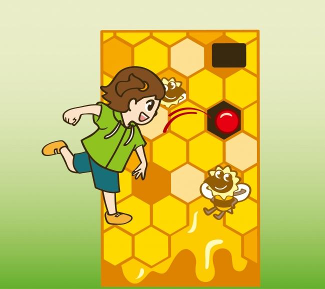 ミツバチ・ハニーショット!