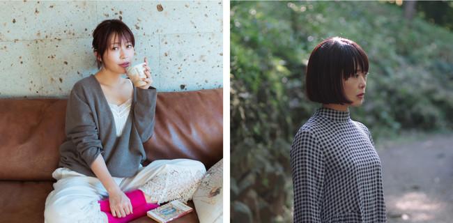 左)坂本美雨さん 右)前田ひさえさん