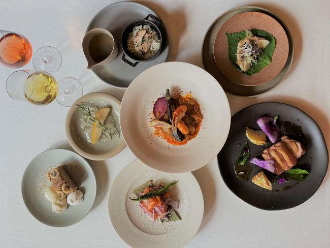 <全7品 French Thai Cuisine Course>