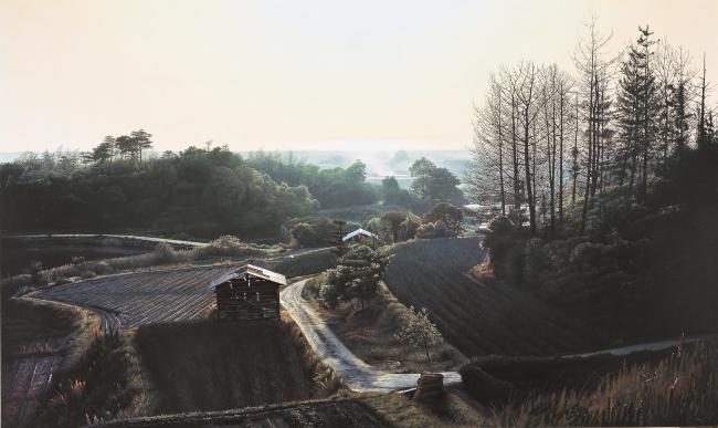 原雅幸「光る海」2010年