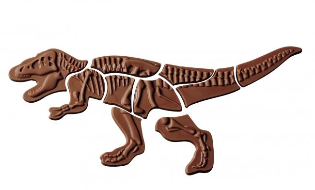 「ジュラシックショコラ マキィズ」 JC恐竜パズルチョコレート ティラノ (10ピース)1,383円