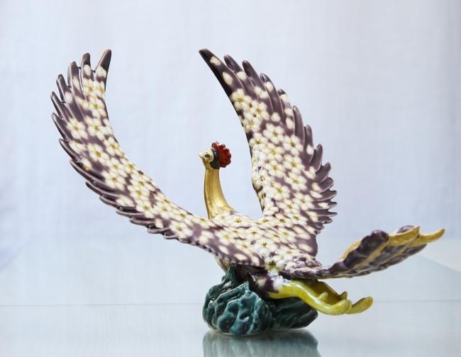 「九谷焼彩匠会」火の鳥シリーズ 宮本晄作 火の鳥 64,800円【限定1】 (C)手塚プロダクション