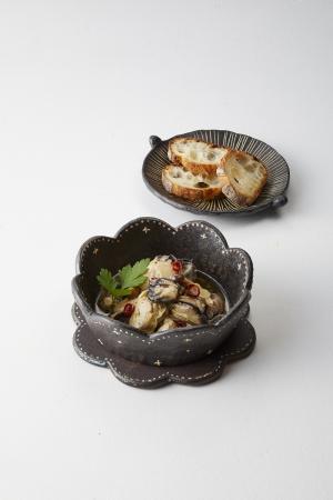 「ファームパーク伊都国」糸島牡蠣のアヒージョ(140g)601円