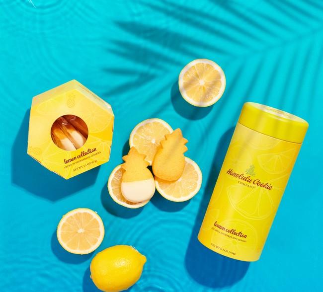「ホノルル・クッキー・カンパニー」 レモン缶(12枚入り) 2,786円 【各日限定80】 ◎祝祭広場