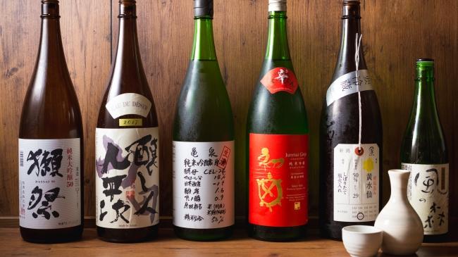 日本酒飲み放題プラン