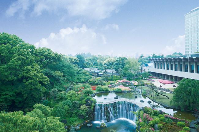 浴衣での散策にぴったりな1万坪の日本庭園
