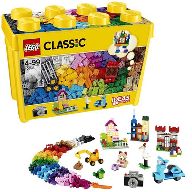 レゴクラシック黄色のアイデアボックス10698