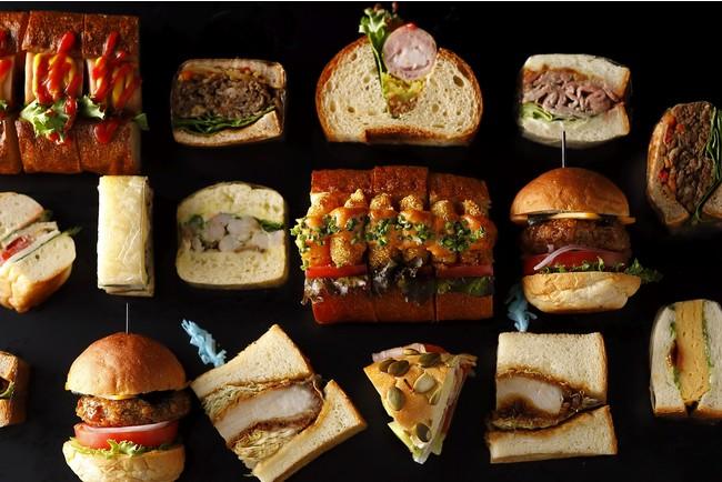 定番から変化形まで、17種類の個性豊かなサンドウィッチ