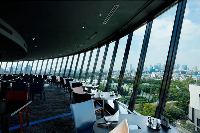 360度 東京を一望する絶景もポイント