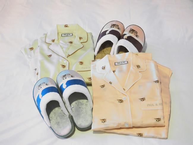 ※パジャマとスリッパの色・柄はお選びいただけません。