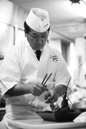 日本料理 料理長 宮田勇