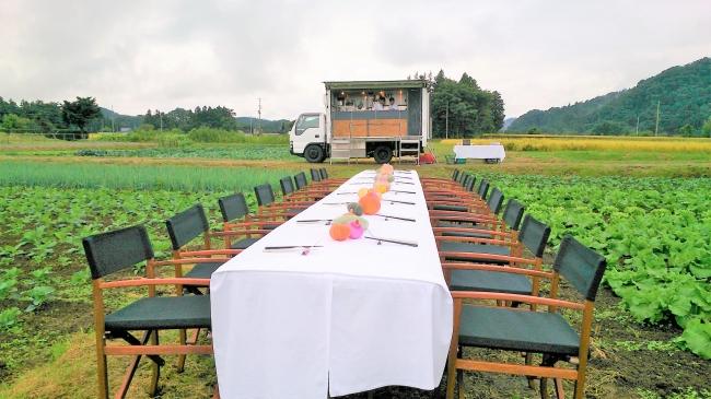 Food Campの様子(1)