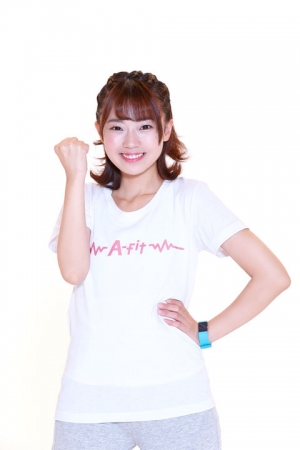 A‐fit GIRL:高田憂希 © KING RECORD CO.,LTD.