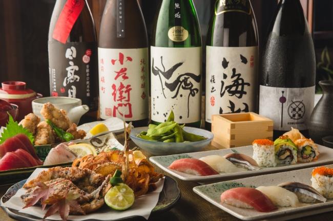 【秋限定】寿司テラスコース