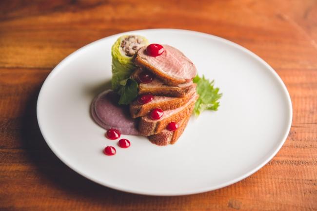 タブローズ「ニューアメリカンキュイジーヌ」料理一例