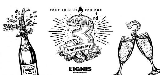 L'IGNIS 3rd Anniversary