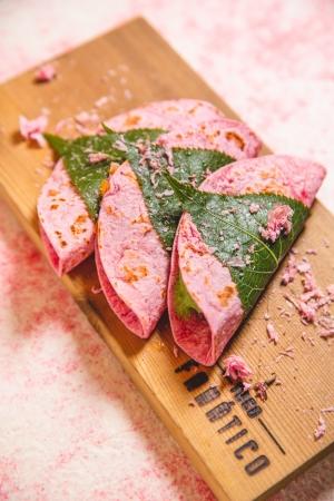 【春季限定】桜タコス