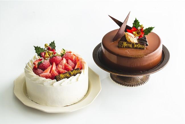 クリスマス限定ケーキ2種