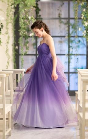 4MEEEオリジナルドレス「Blue Hibiscus(ブルーハイビスカス)」
