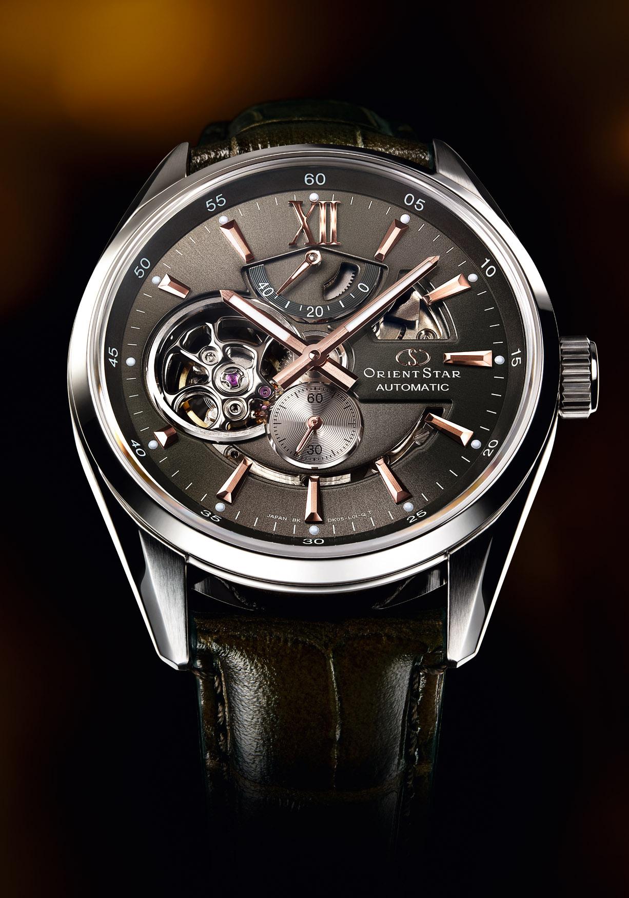 国産本格機械式時計オリエントスターより新作『オリエントスター モダンスケルトン』 11月1日発売