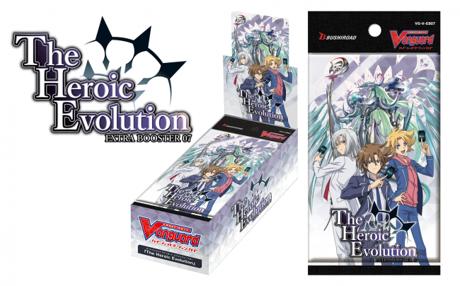 The Heroic Evolution Extra Booster Vanguard V Cardfight!
