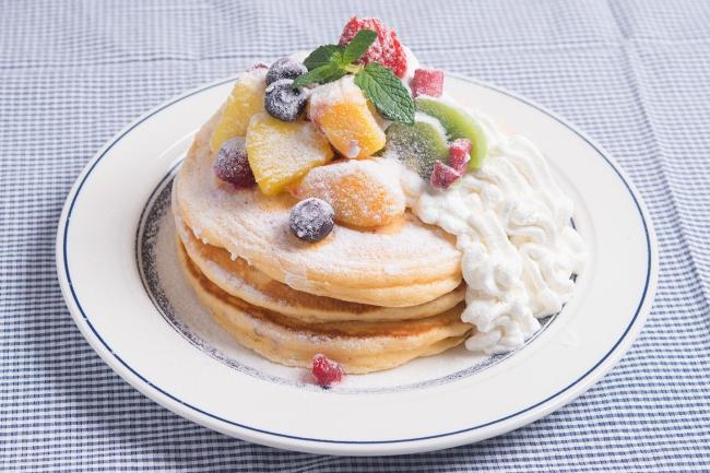 【NEW】フルーツミックスパンケーキ