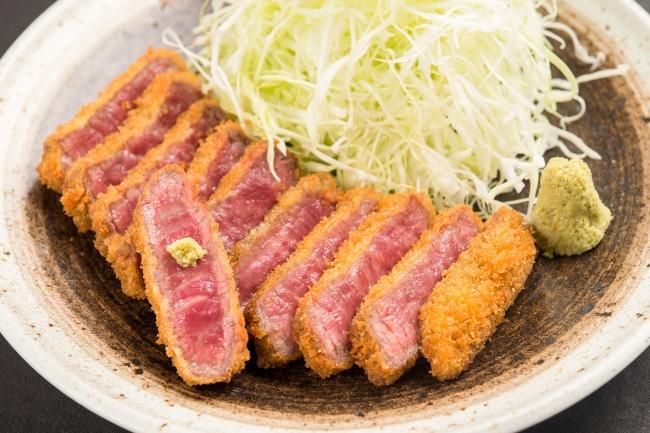 『黒毛和牛 牛カツ膳』:2,480円(+税)