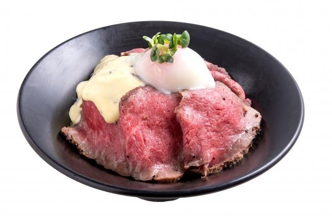 『ローストビーフ丼』:1,000円(+税)