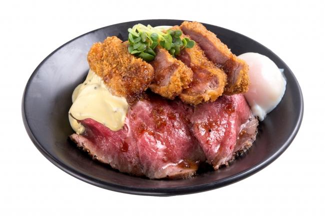 『勝牛ホームラン丼』:1,400円(+税)