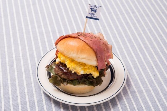 『NICK バーガー』:850円(+税)