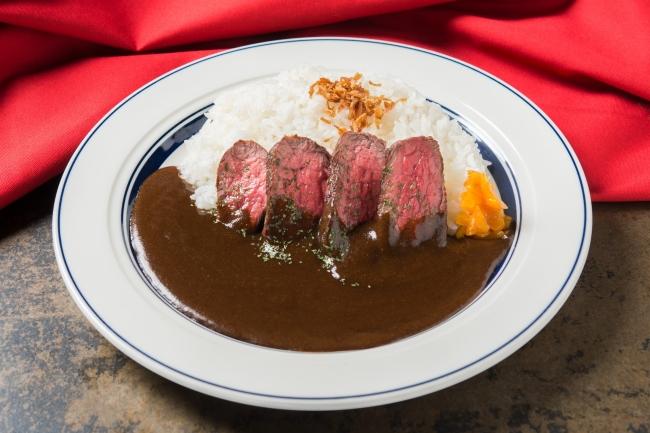 「ステーキカレーライス」:1,580円(+税)