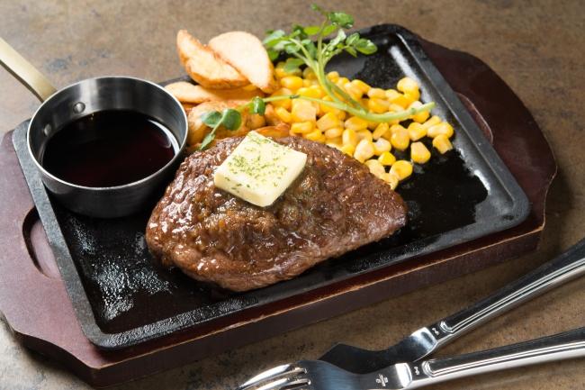 「シャリアピンステーキ」:1,980円(+税)