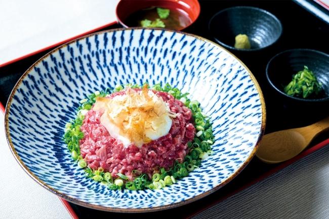 「牛のっけ飯」1,280円(+税)