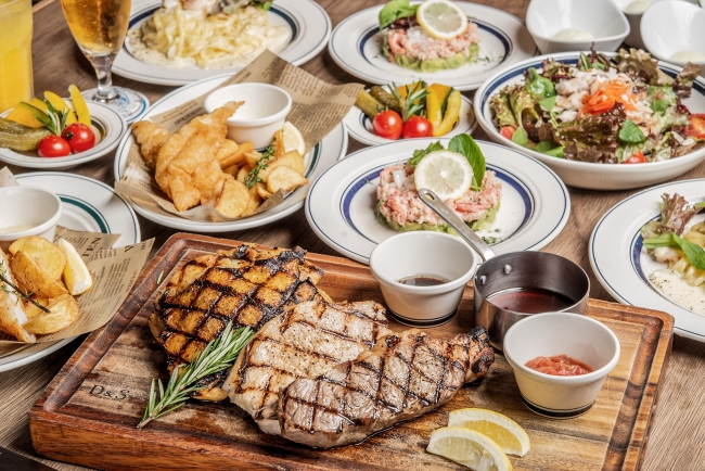 豪快な本格肉料理を囲んで一味違った肉宴会!