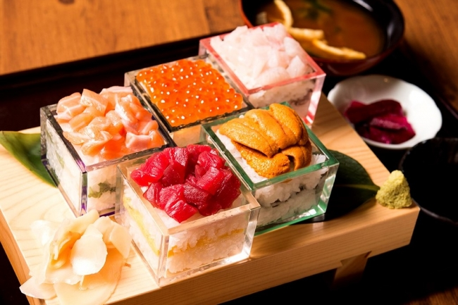 升寿司5段:1,980円(+税)