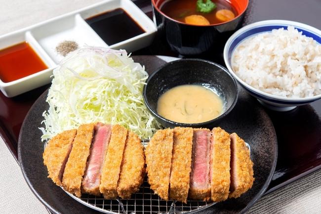 「牛タンカツねぎ味噌膳」 1780円(+税)