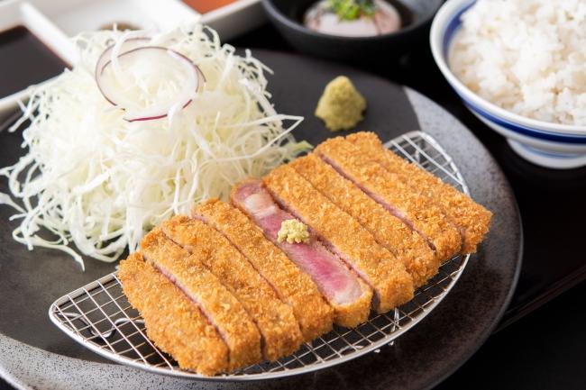 牛リブロースカツ膳(並):1,278円(+税)
