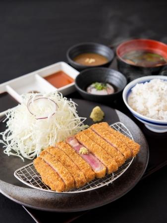 厳選素材、選べる部位と組み合わせ、豊富な食べ方など、独自のこだわりが詰まった京都勝牛の牛カツ膳