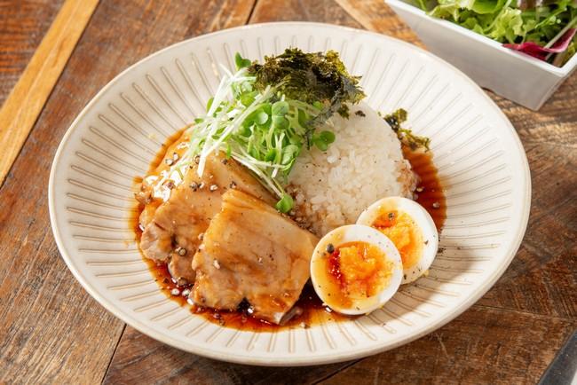 「とろける煮豚と味玉の台湾ルーローハン」